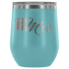 Mrs. LEO Badge Emblem 12oz. Stemless Wine Tumbler