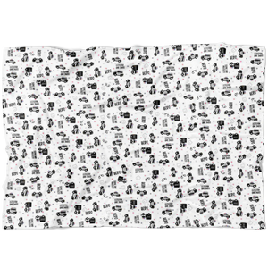 Serve and Protect LEO Fleece Blanket