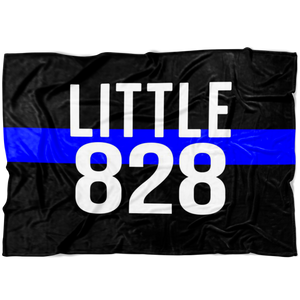 *CUSTOM* Little Badge Number © TBL Fleece Blanket