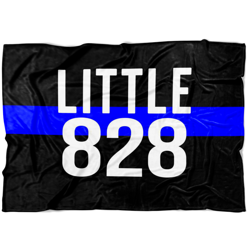 *CUSTOM* Little Badge Number TBL Fleece Blanket