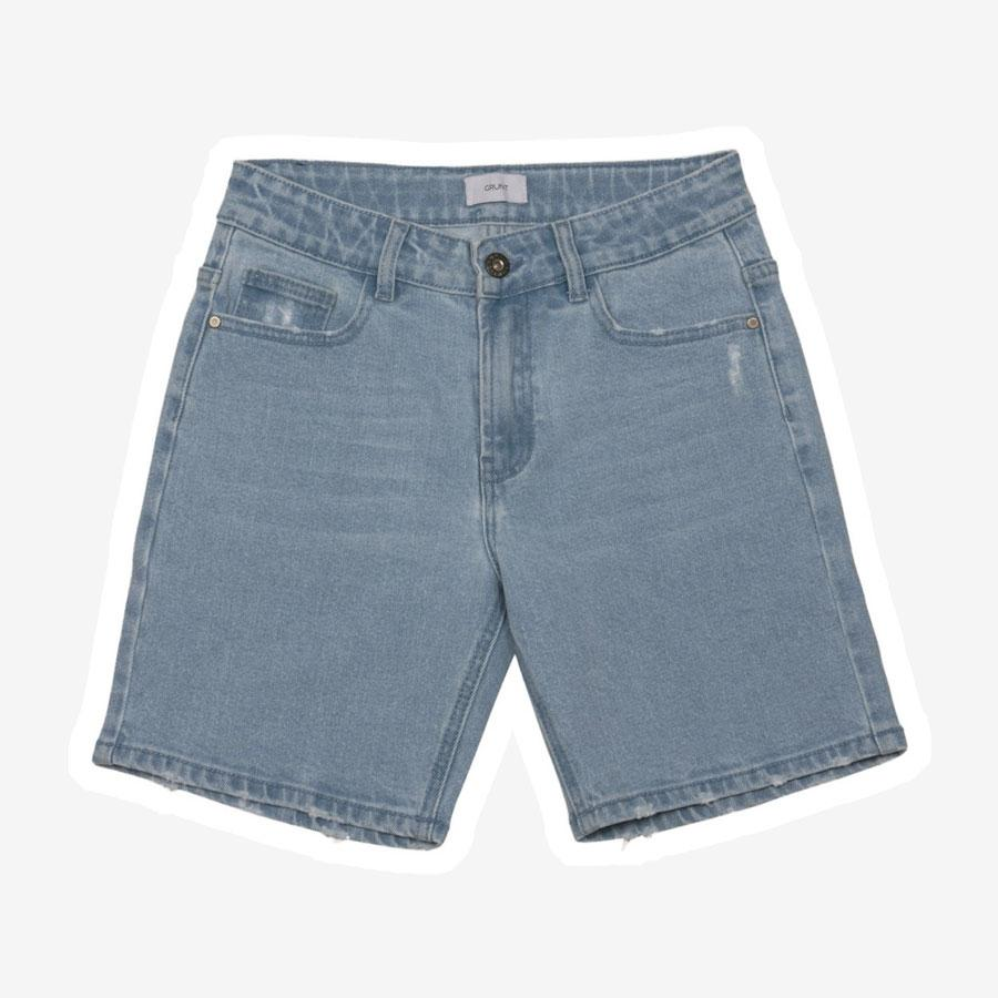 Grunt Clint denim shorts lyseblå