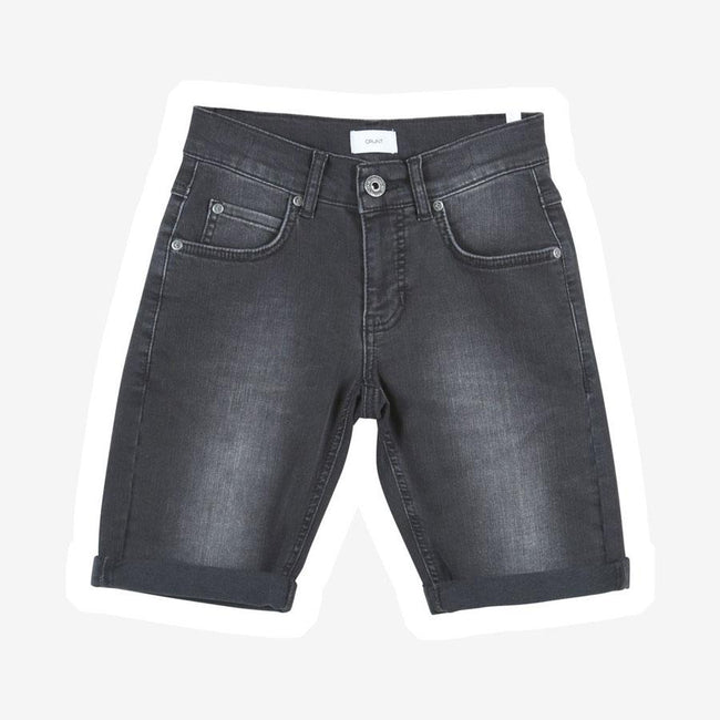 Grunt Space denim shorts mørkegrå