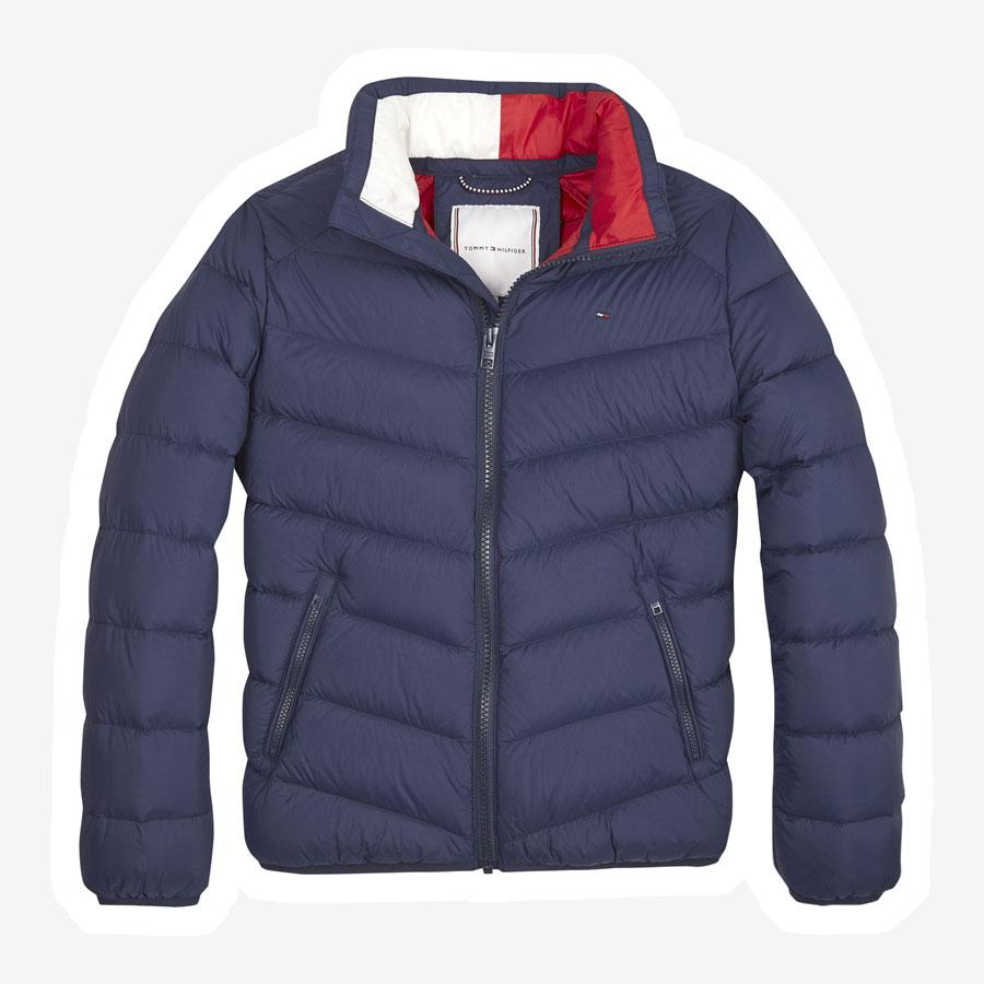 Tommy Hilfiger U Light Down jakke mørkeblå