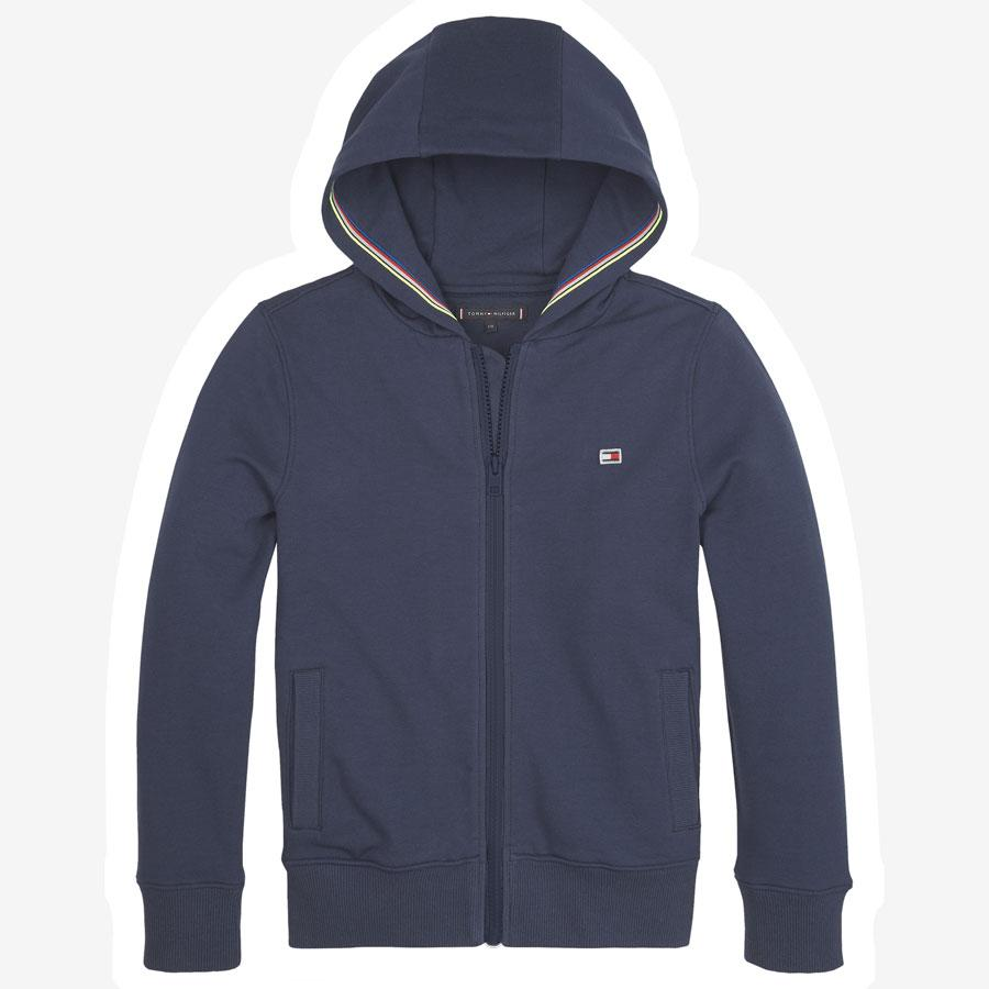 Tommy Hilfiger Tape Detail Zip sweatshirt