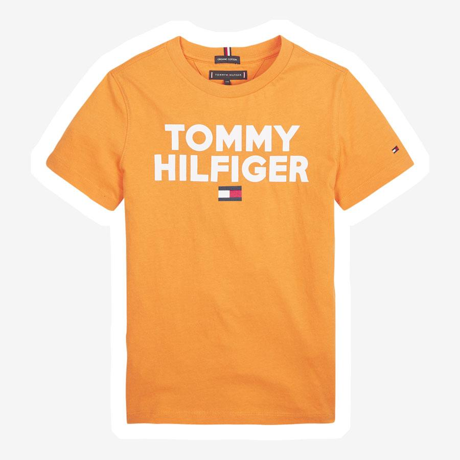 Tommy Hilfiger Logo t-shirt orange