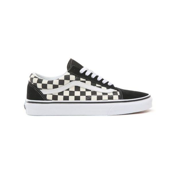 Vans Old skool primary check sko m. tern sort/hvid