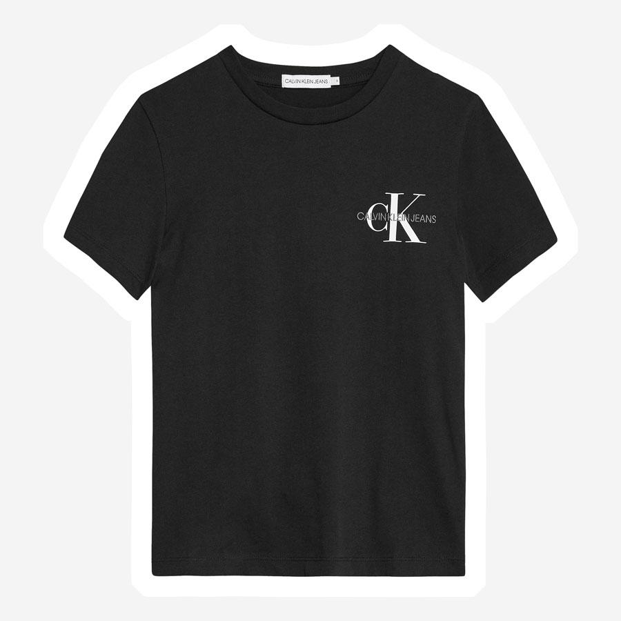 Calvin Klein Chest Monogram t-shirt sort