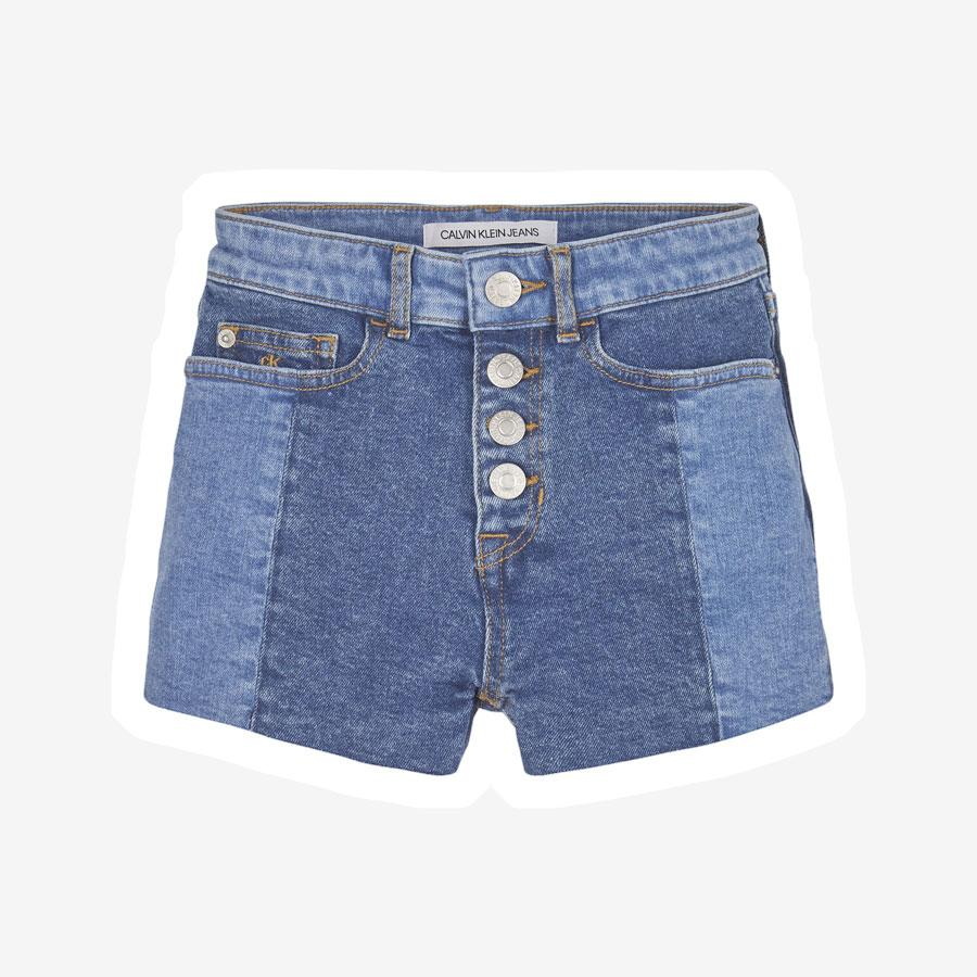 Calvin Klein Relaxed HR denim shorts