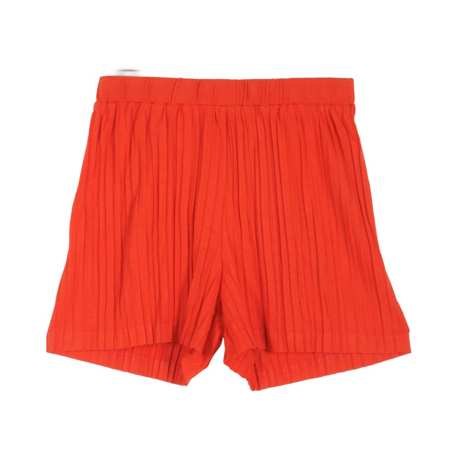 Grunt Holly plissé shorts rød