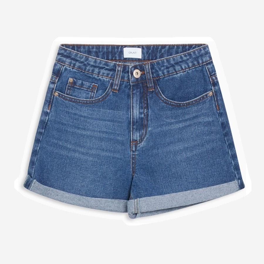 Grunt Mom Eight denim shorts blå