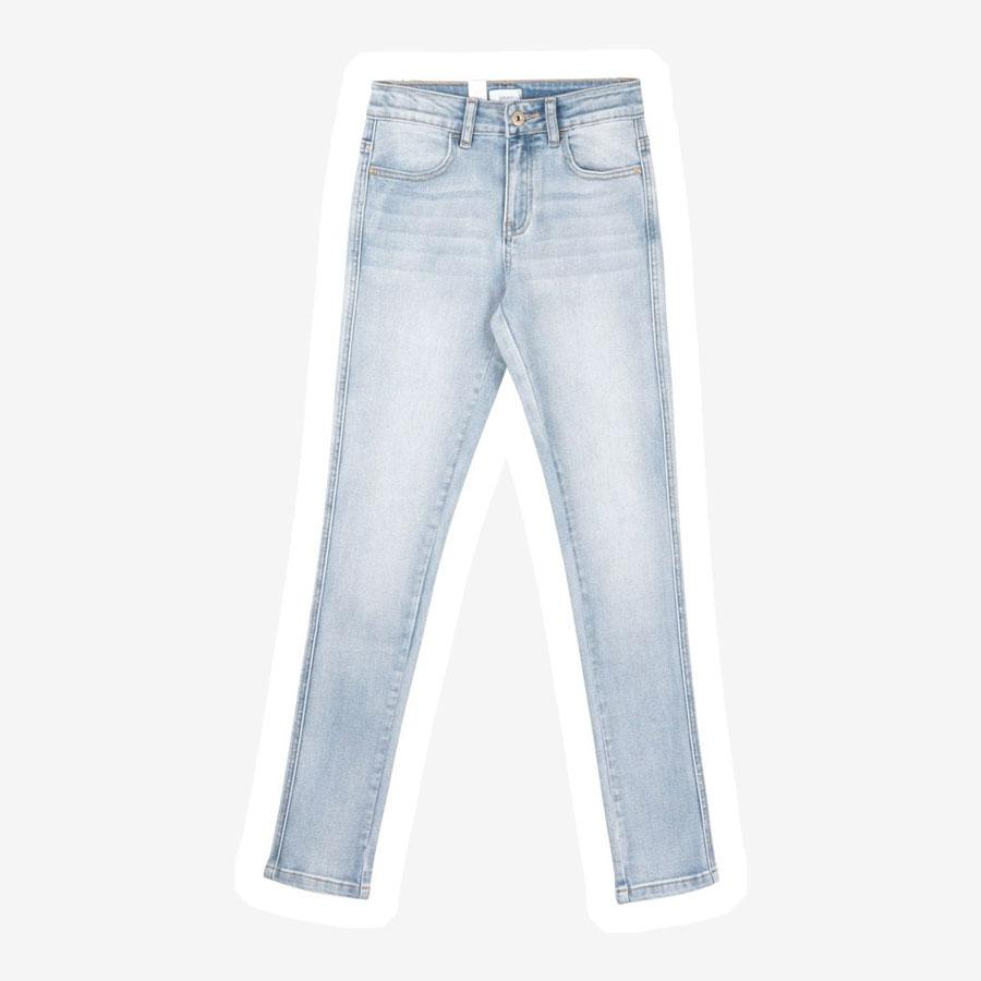 Grunt Reused jeggings lyseblå