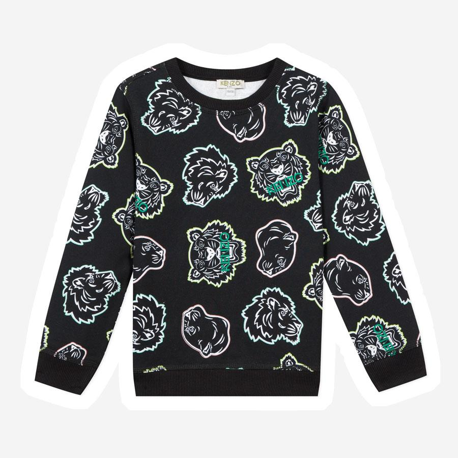 Kenzo Jalen tiger sweatshirt sort multi