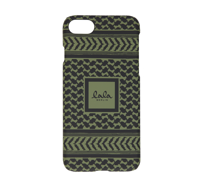 Lala Berlin iphone 7 cover kufiya scribbled