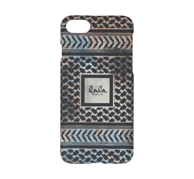 Lala Berlin iphone 8 cover kufiya scribbled
