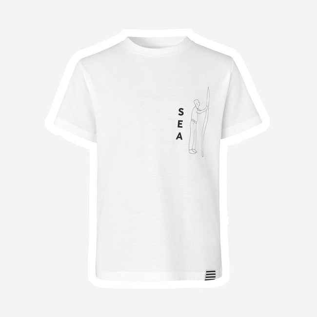 Mads Nørgaard Printed Thorlino Sea t-shirt