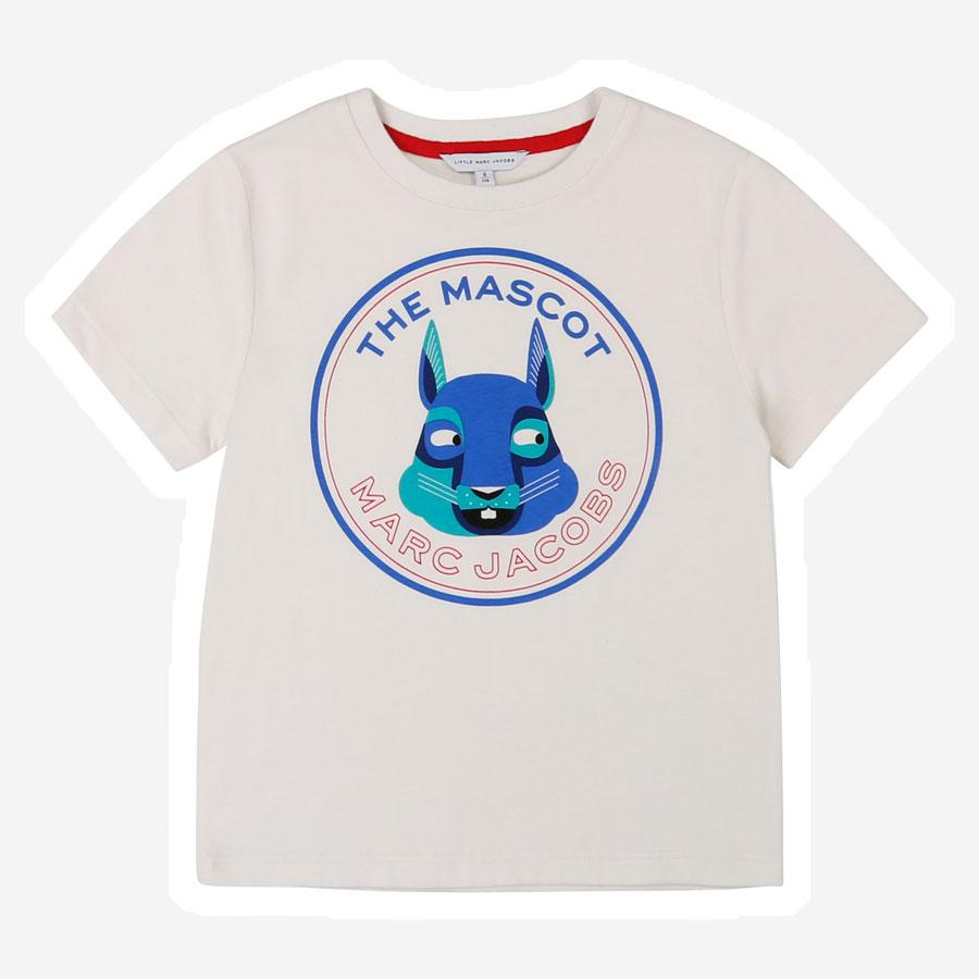 Marc Jacobs The Mascot logo t-shirt hvid
