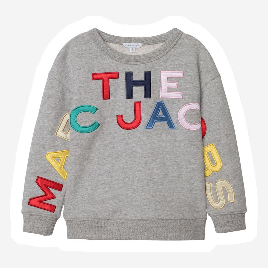 Marc Jacobs Color logo sweatshirt grå multi