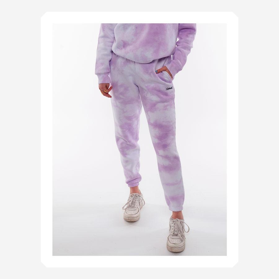 ONME Purple Cloud sweatbukser lilla
