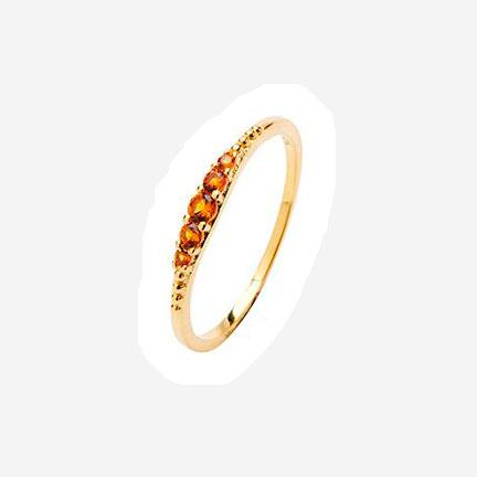 Pico Aisha ring guld orange