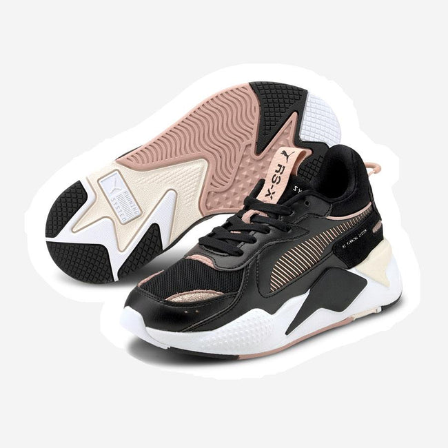Puma RS-X Mono Metallic sneakers sort rosa guld