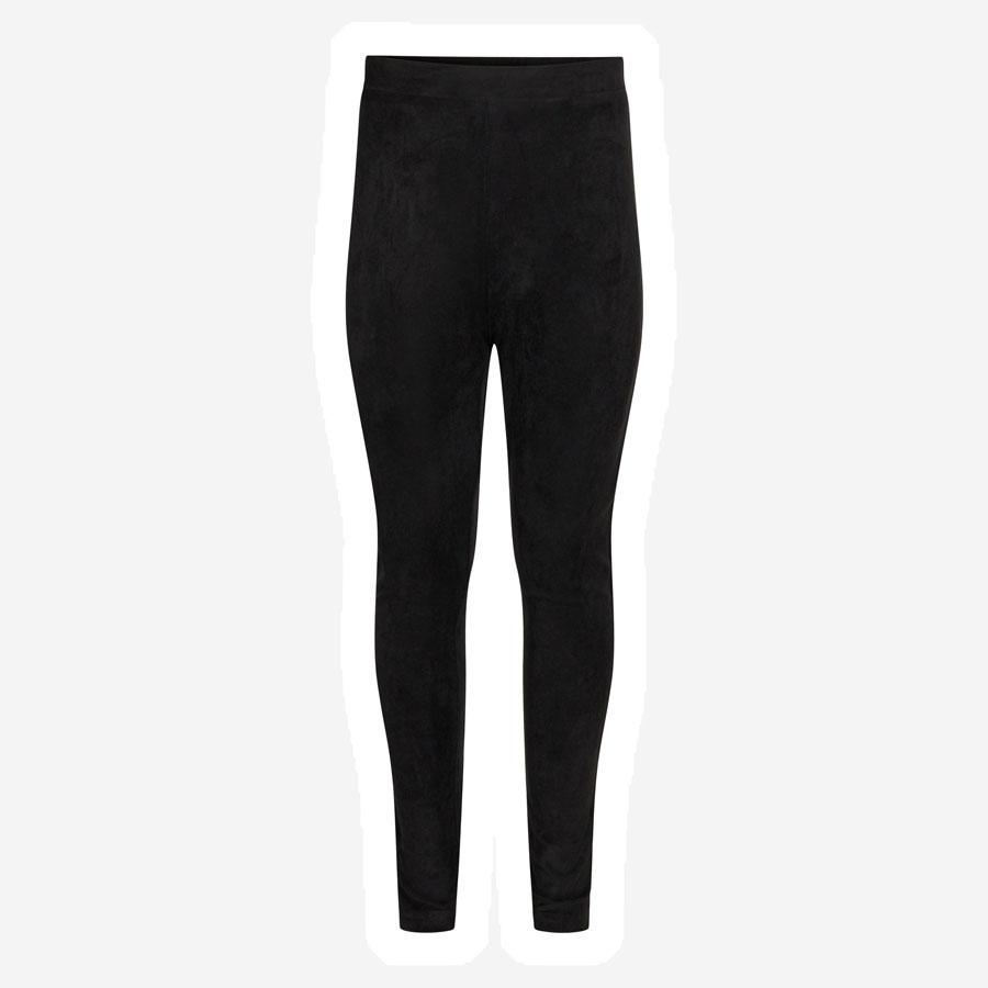 Sofie Schnoor Terese suede leggings sort