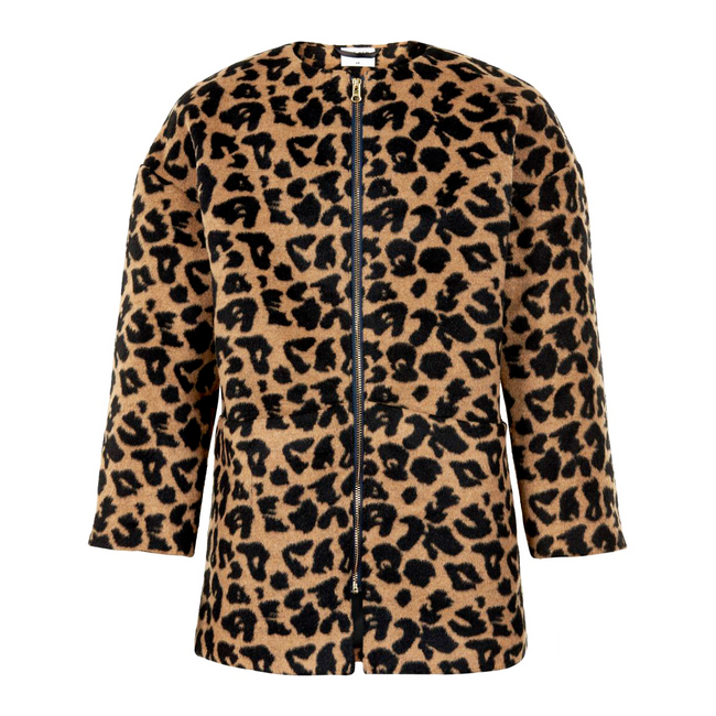 The New Iby jakke leopard