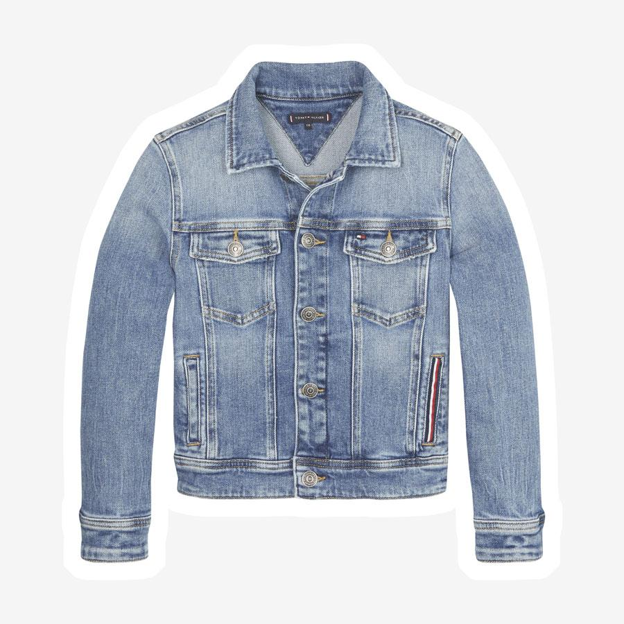 Tommy Hilfiger Trucker Destructed denim jakke
