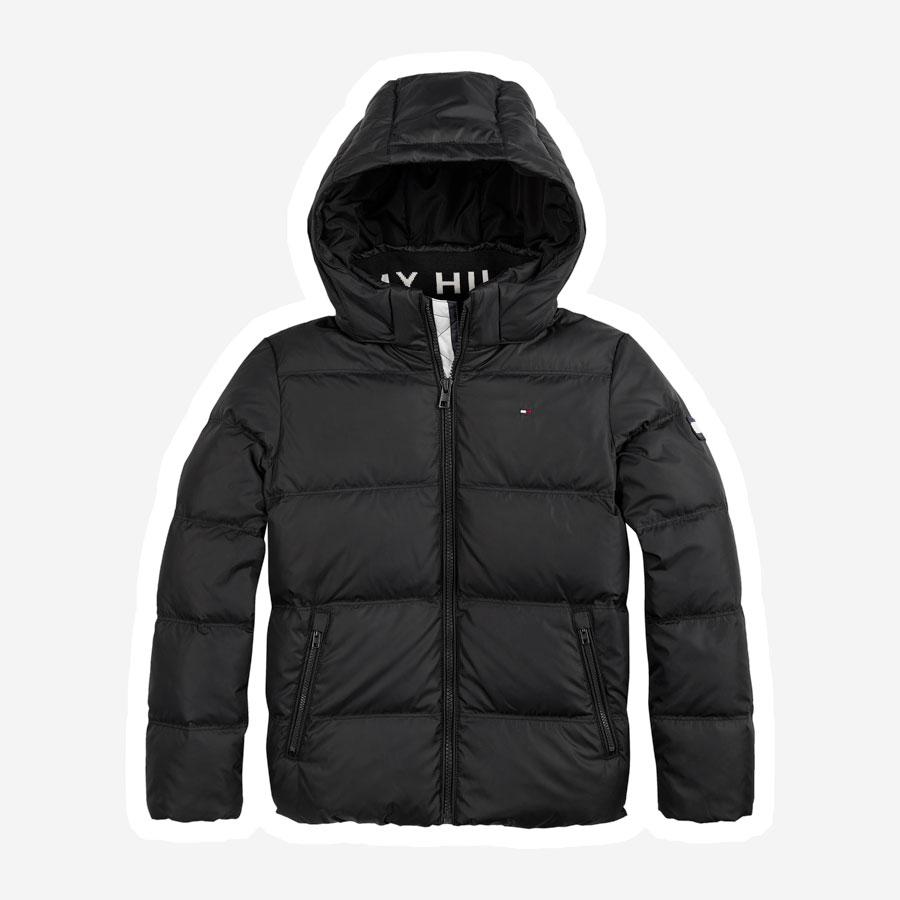 Tommy Hilfiger Essential Down vinterjakke sort