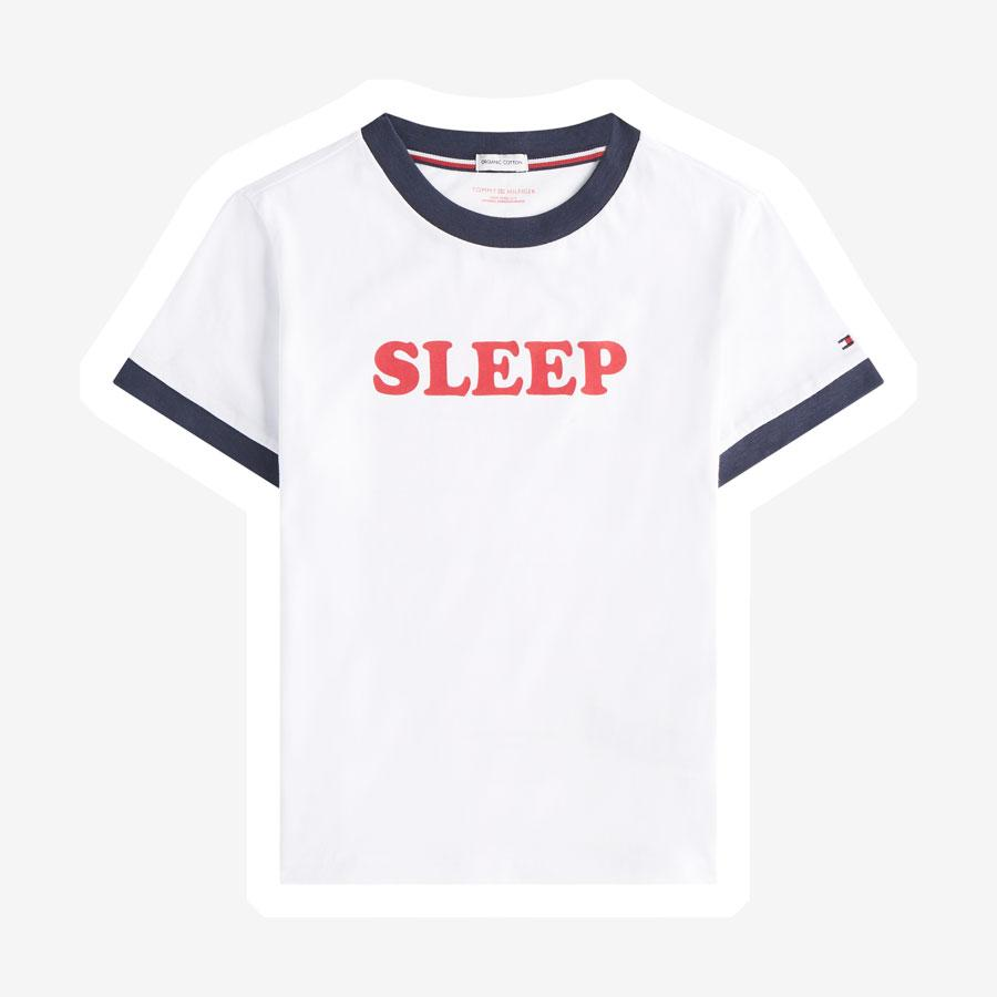 Tommy Hilfiger slogan Sleep t-shirt