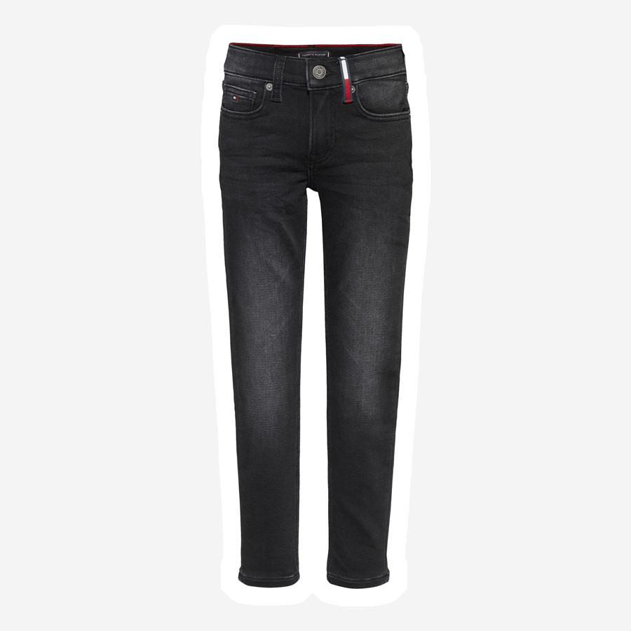 Tommy Hilfiger Spencer slim brushed jeans sort