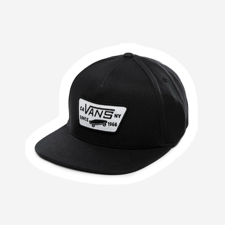 Vans Full Patch Snapback kasket sort