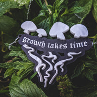 growth takes time - necklace