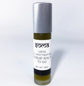 SOMA CBD 150MG FULL SPECTRUM PAIN RELIEF ROLL ON TO GO