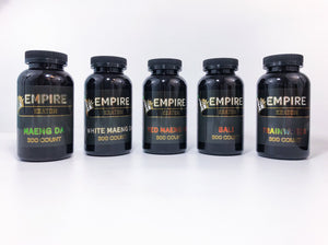 Empire Kratom 300 Count Capsules (Black Label)