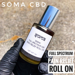 SOMA CBD 350MG FULL SPECTRUM CBD ROLL ON