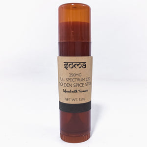 SOMA CBD 250MG FULL SPECTUM GOLDEN SPICED STICK (INFUSED WITH TURMERIC)