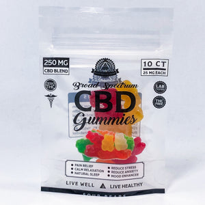250 MG BROAD SPECTRUM CBD GUMMIES