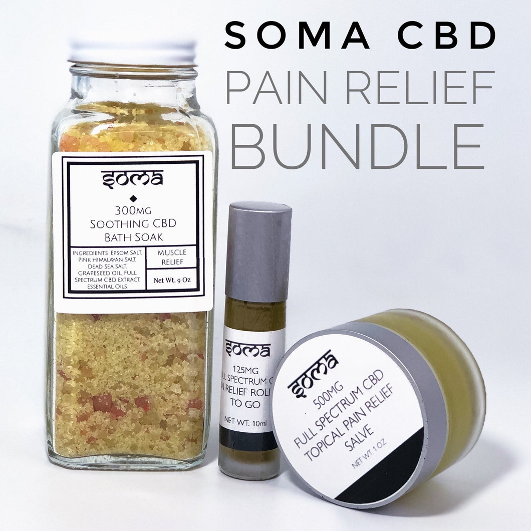 SOMA CBD 925mg Pain Relief Bundle