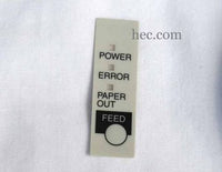 Epson TM-T88II Button overlay