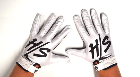 White-Out HSL Logo Gloves