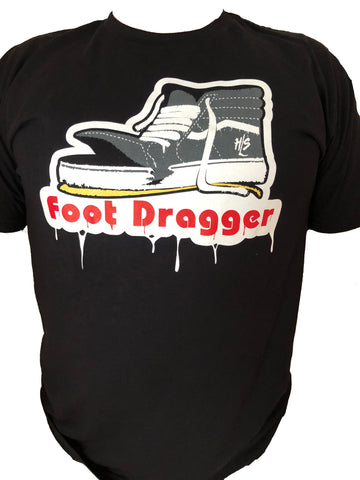 Black Foot Dragger Tee