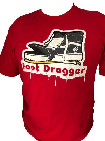 Red Foot Dragger Tee