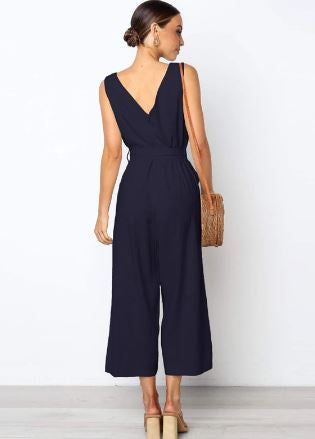 Cora casual Jumpsuit -Likabee, Women - Women's Swimwear, [Shop_name] - Likabee.com