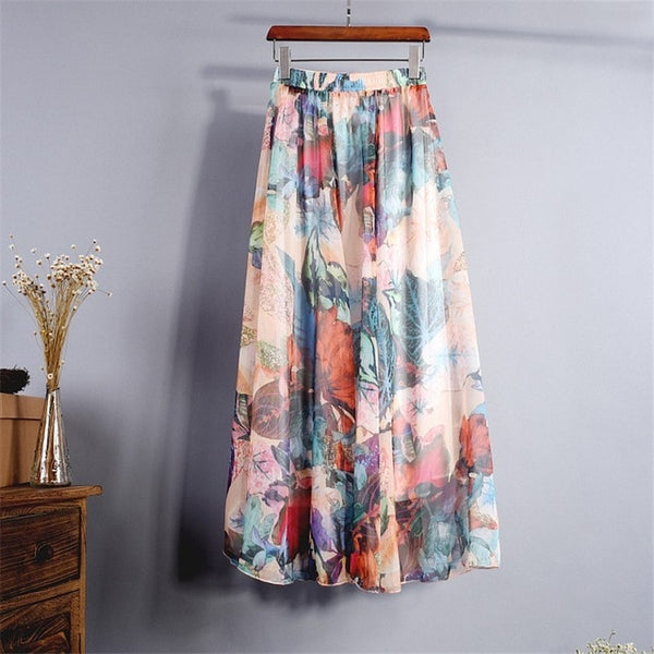 Chiffon Seashells Skirt -Likabee, Women - Women's Swimwear, [Shop_name] - Likabee.com