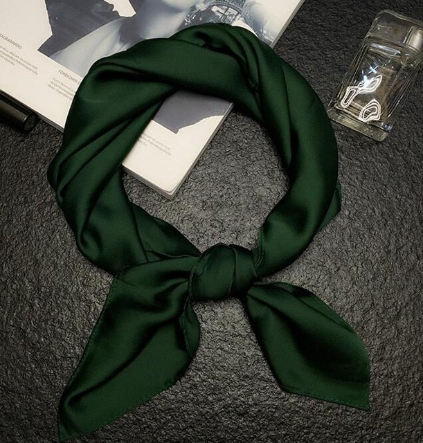 luxury brand bags SCARF women's silk scarf fashion lady square scarves soft shawls pashmina solid color bandana