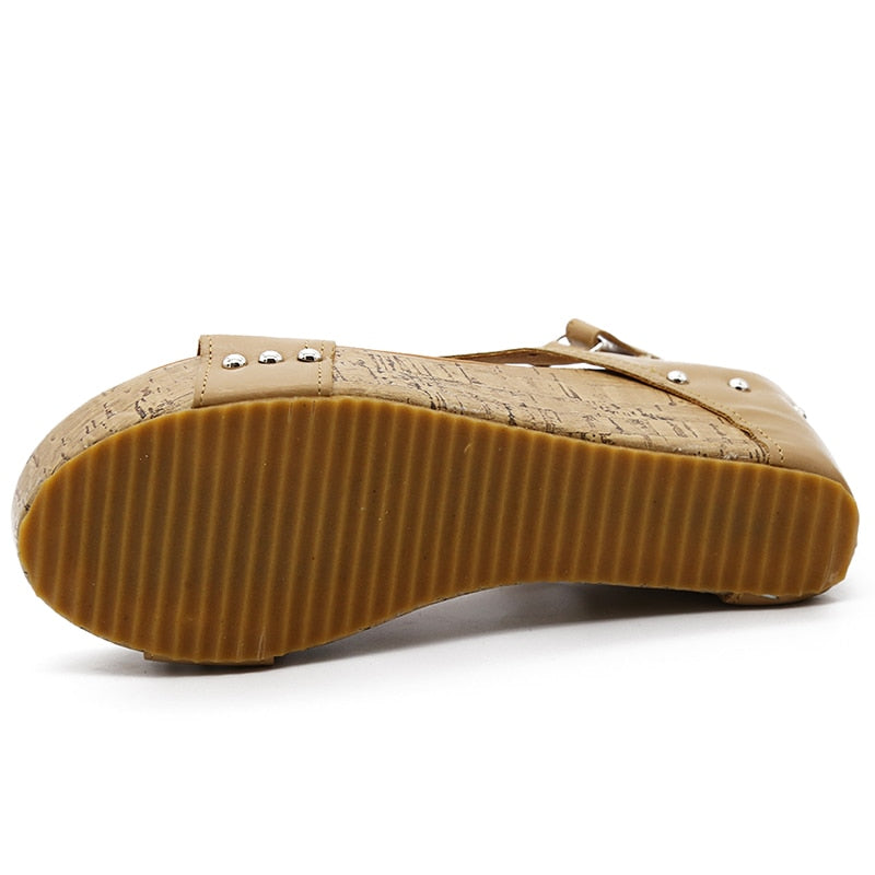 TJ Casual Wedges -Likabee, Women - Women's Swimwear, [Shop_name] - Likabee.com