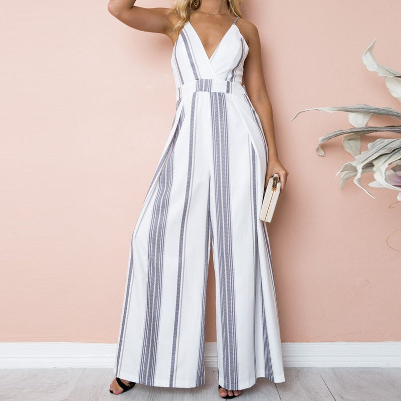 Summer Sleeveless Jumpsuit