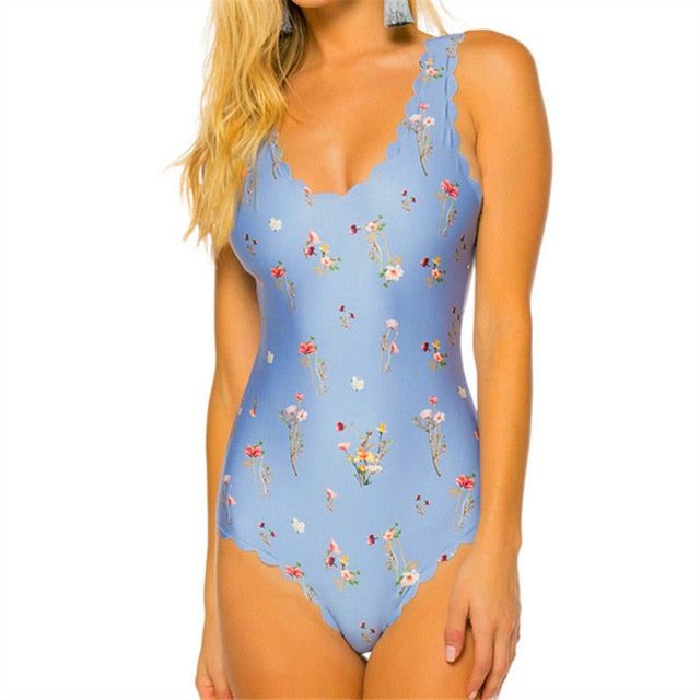 Varadero Floral One Piece -Likabee, Women - Women's Swimwear, [Shop_name] - Likabee.com