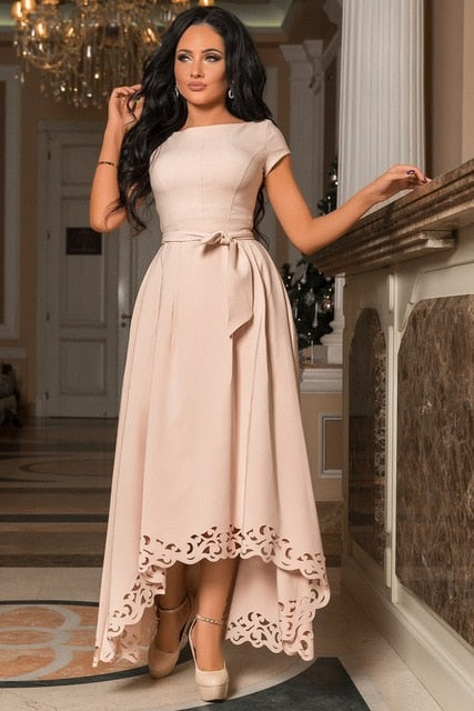 Tiana asymmetrical dress