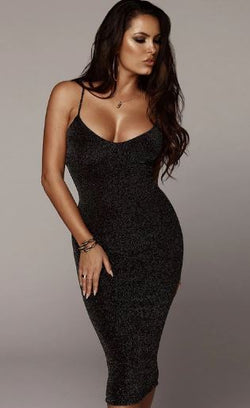 Spaghetti Strap Party Dress -Likabee,  - Women's Swimwear, [Shop_name] - Likabee.com